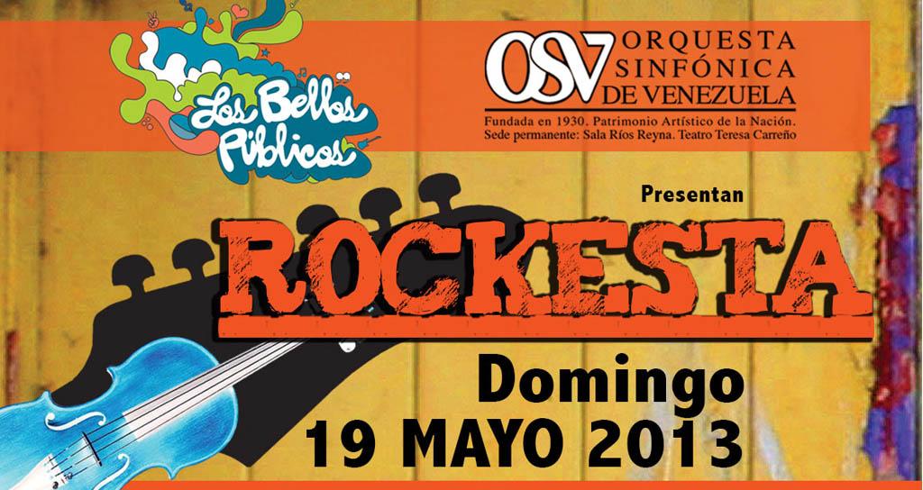 Orquesta Sinfónica de Venezuela celebra lo mejor del rock con Rockesta 2013