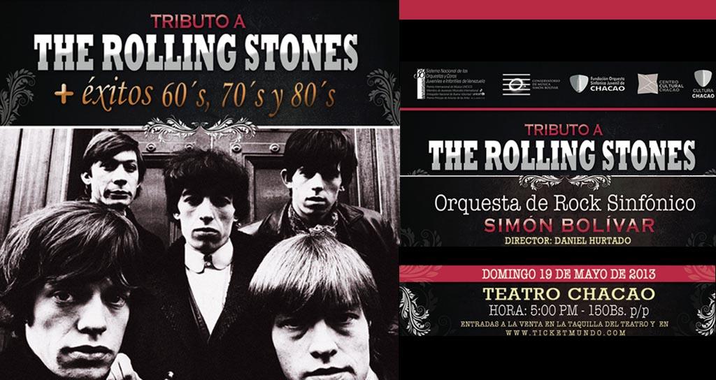 Música de los Rolling Stones y de la década de los 60, 70 y 80 en concierto de rock sinfónico en el Teatro de Chacao