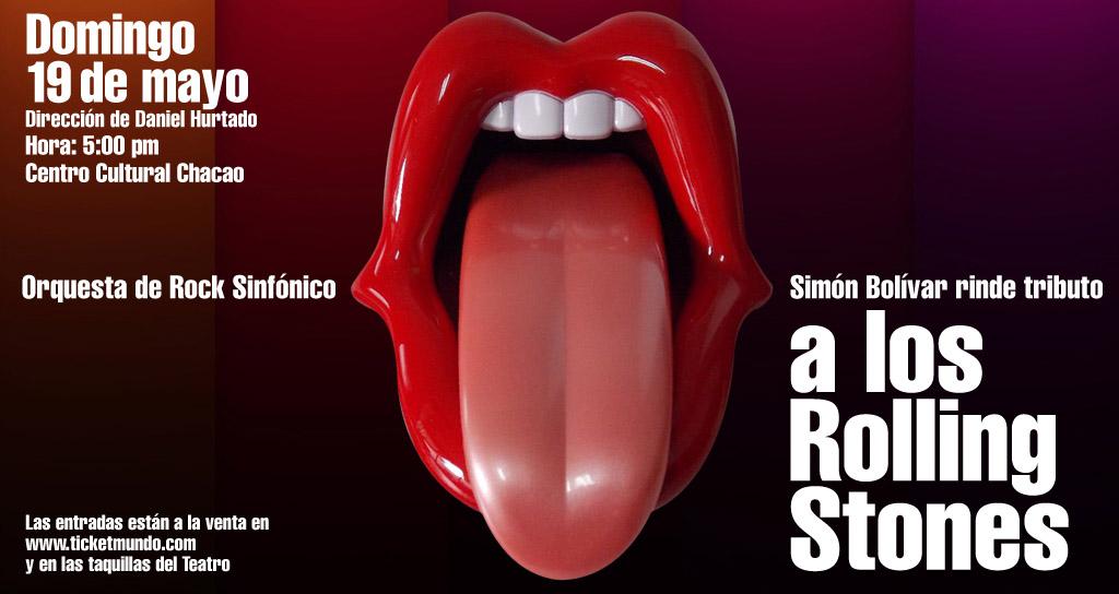 Orquesta de Rock Sinfónico Simón Bolívar rinde tributo a los Rolling Stones