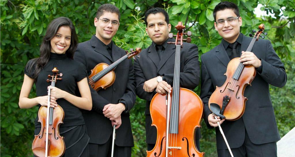 El Cuarteto Teresa Carreño abordan los retos con constancia y tenacidad