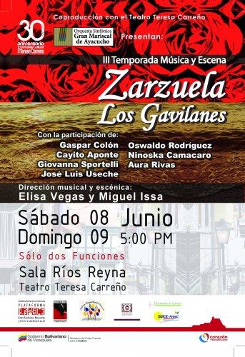 """Zarzuela """"Los Gavilanes"""""""
