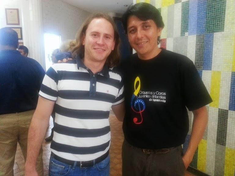 MARLON FRANCO, QUIEN COMPARTIÓ ATRIL CON CHRISTIAN AÑOS ATRÁS, LE EXPLICÓ LOS PORMENORES DEL PROYECTO
