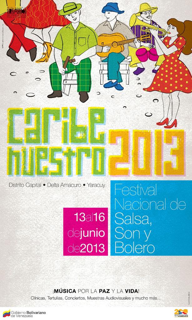 """""""Festival Nacional de Salsa, Son y Bolero: Caribe Nuestro 2013"""""""