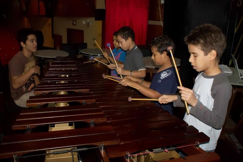 El 10 de junio la agrupación llegó al estado Sucre para compartir con los alumnos del Núcleo de Cumaná.