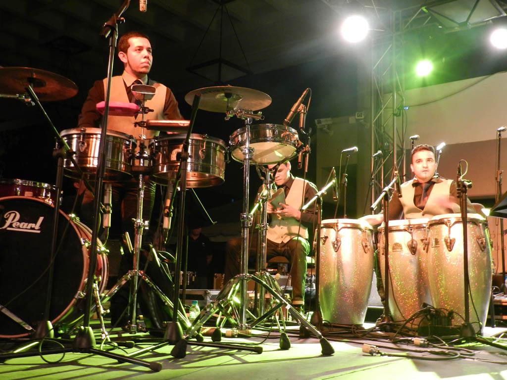 Orquesta Latino Caribeña Simón Bolívar puso a bailar a Mérida