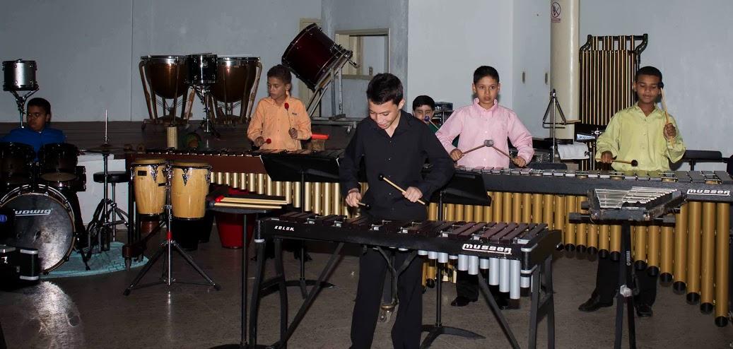 En plena muestra musical en El Tigre.