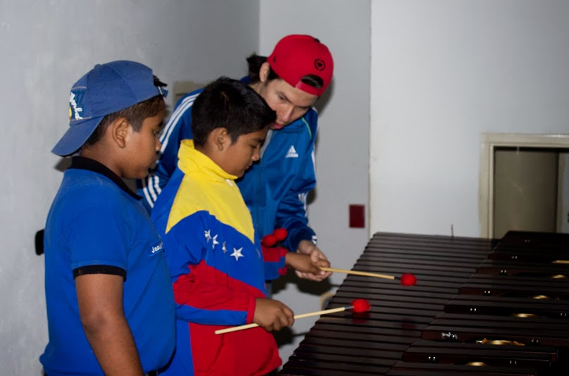 En El Tigre (Anzoátegui) durante encuentro académico con los alumnos del núcleo del Tigre.