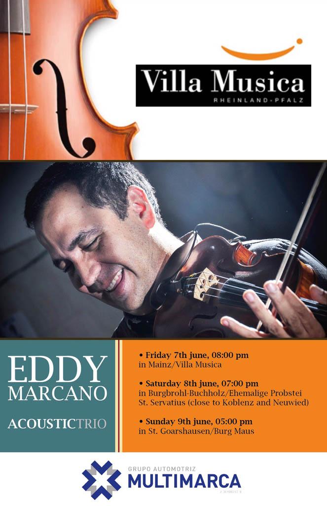 Eddy Marcano y su Trío Acústico triunfan en el Festival Villa Musica