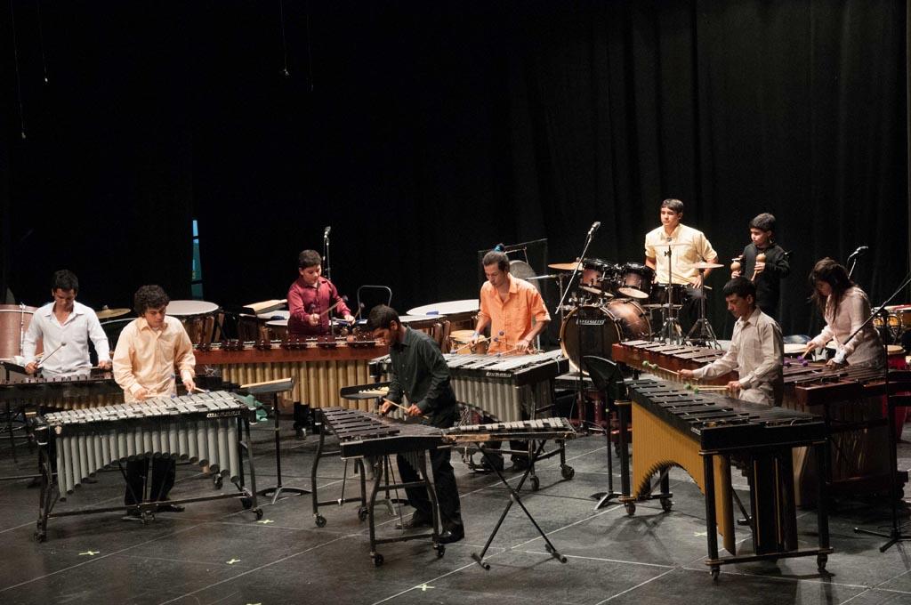 Ensamble de Percusión de Los Llanos recogió calurosos aplausos al cierre de su gira nacional en Maracaibo