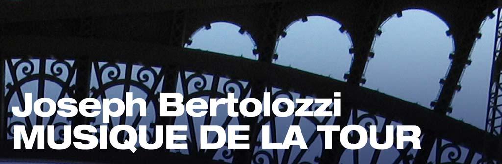 "El percusionista neoyorquino Joseph Bertolozzi ""Musique de la Tour"""