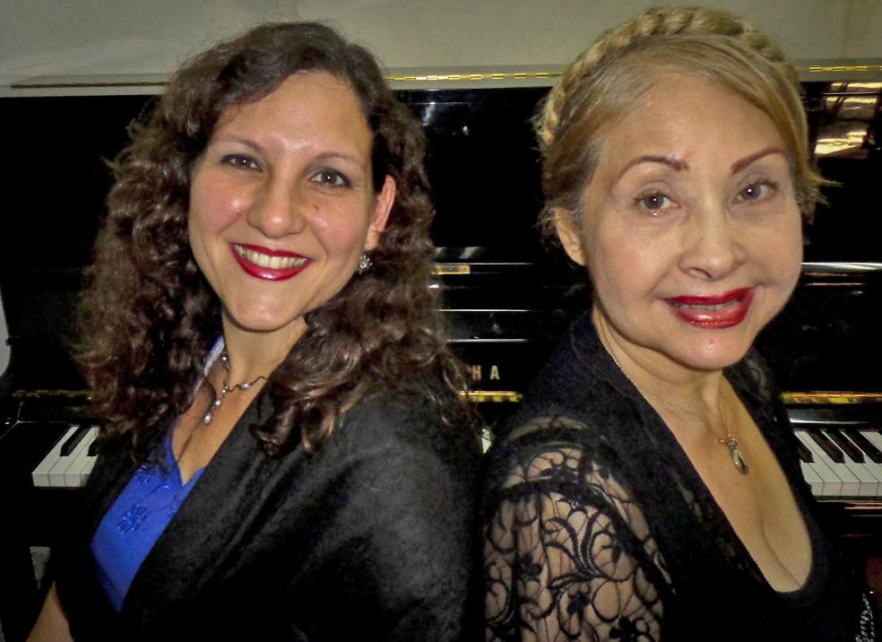 Marisabel Sánchez y Gioconda Vásquez