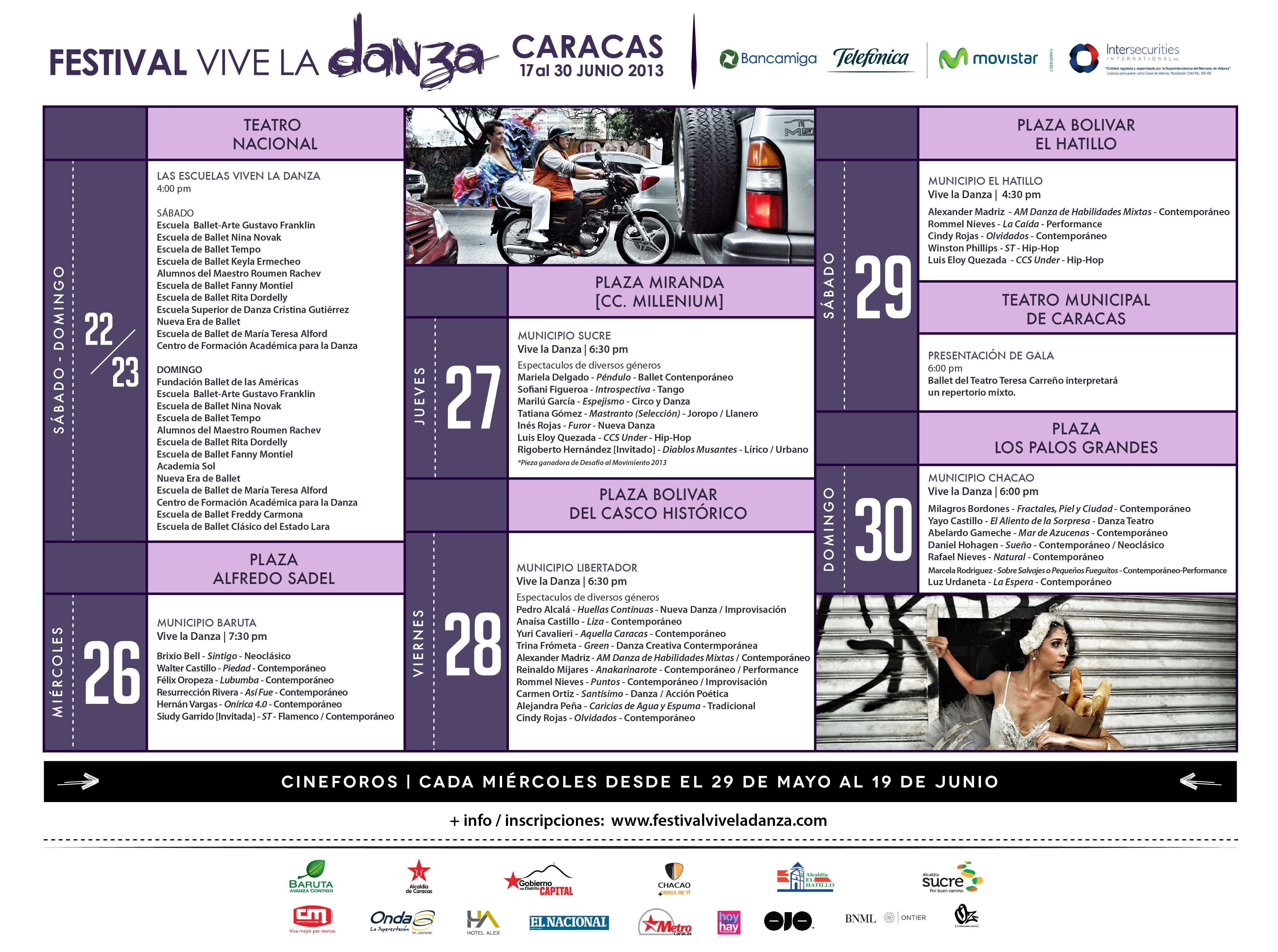 Grilla Festival Vive la Danza 2013Grilla Festival Vive la Danza 2013