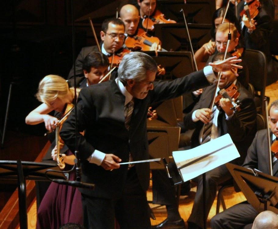 el Director y Compositor venezolano Alfredo Rugeles Azuaje. Fotografía cortesía de Frank Di Polo