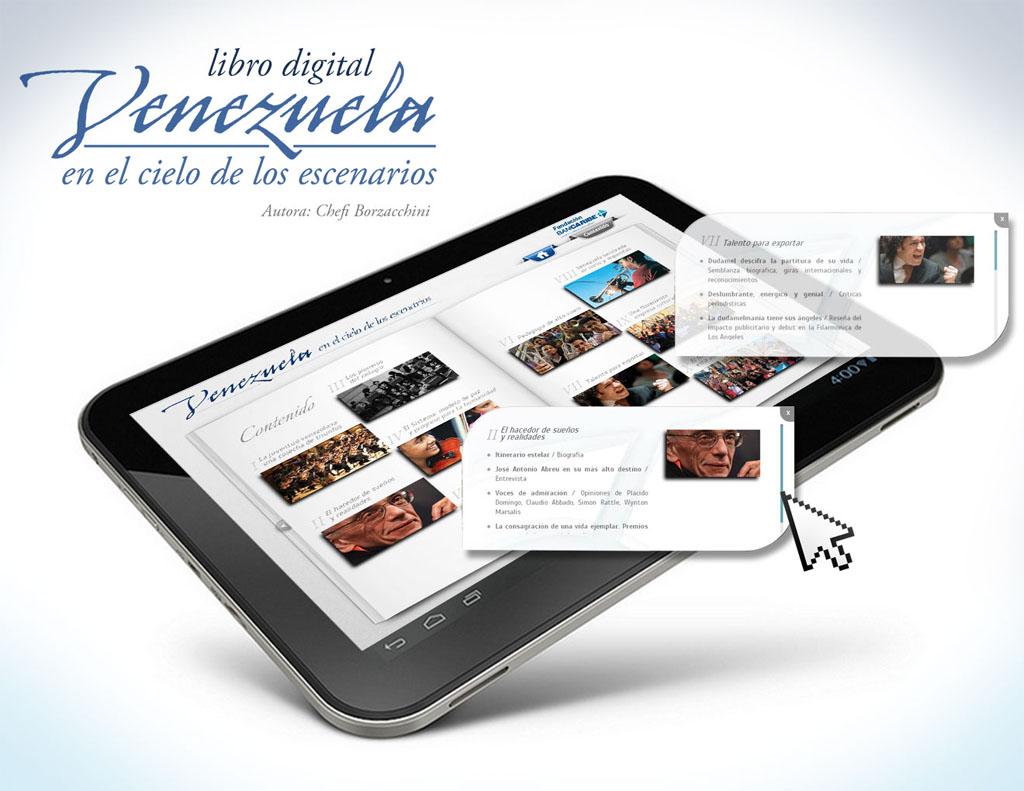 Libro digital Venezuela en el cielo de los escenarios