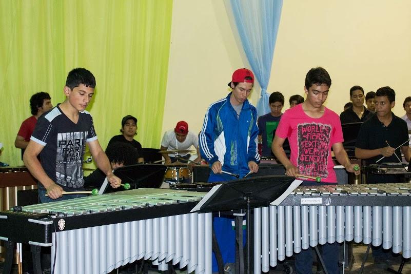 En Puerto Ordaz (estado Bolívar) el Ensamble compartió escenario con los alumnos de la Cátedra de Percusión de Puerto Ordaz.