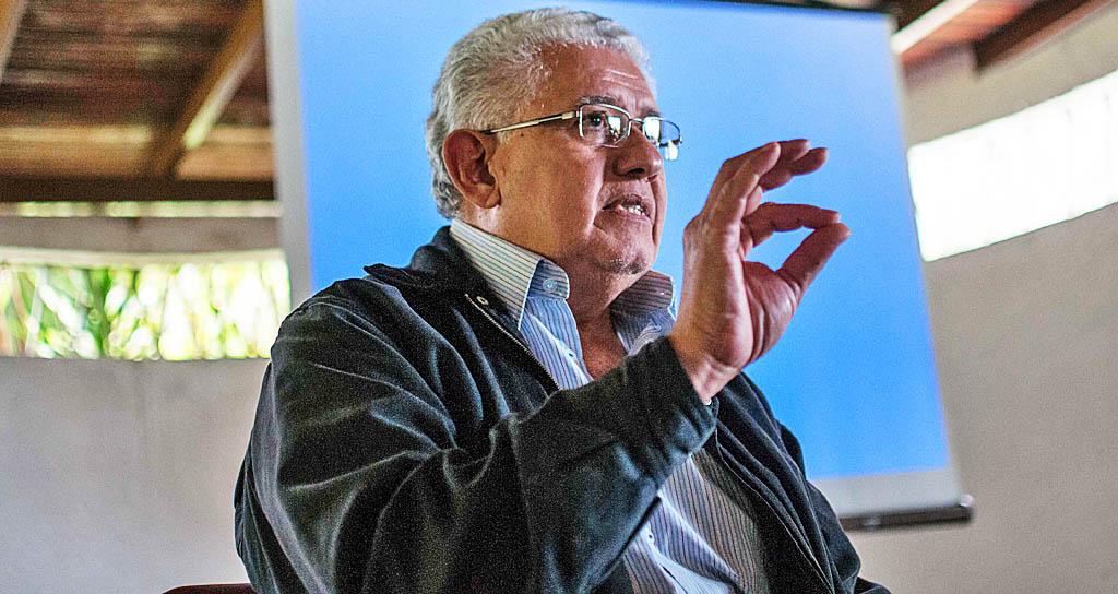 Pablo Camacaro, director del Proyecto Alma Llanera en Trujillo