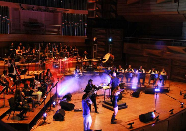 Los grandes delrocksonarán al ritmo de la Orquesta deRockSinfónicoSimón Bolívar