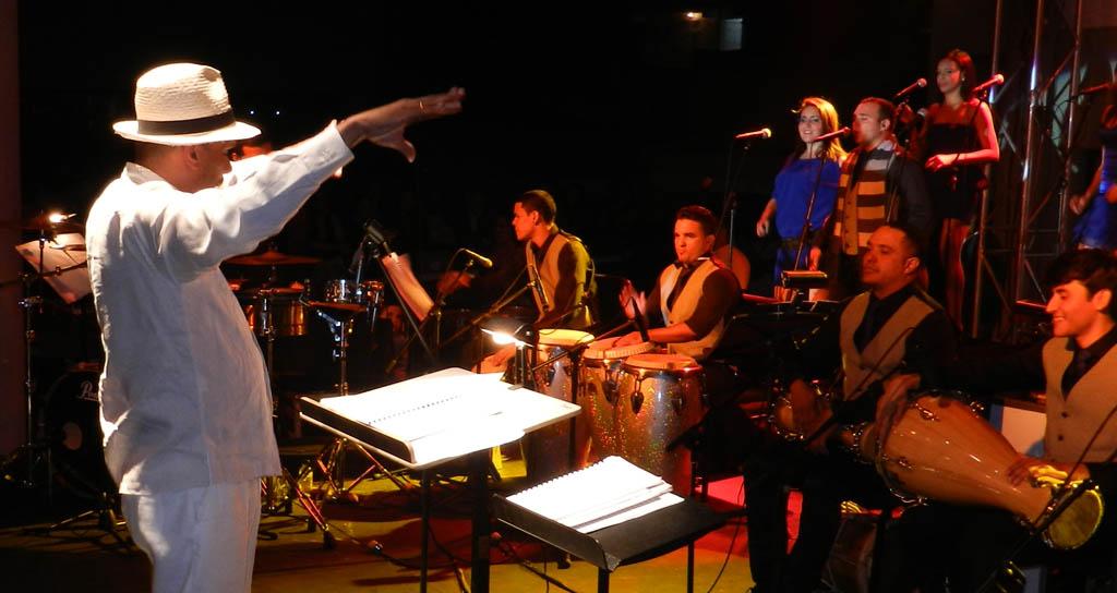 La Orquesta Latino Caribeña Simón Bolívar puso a bailar a Mérida