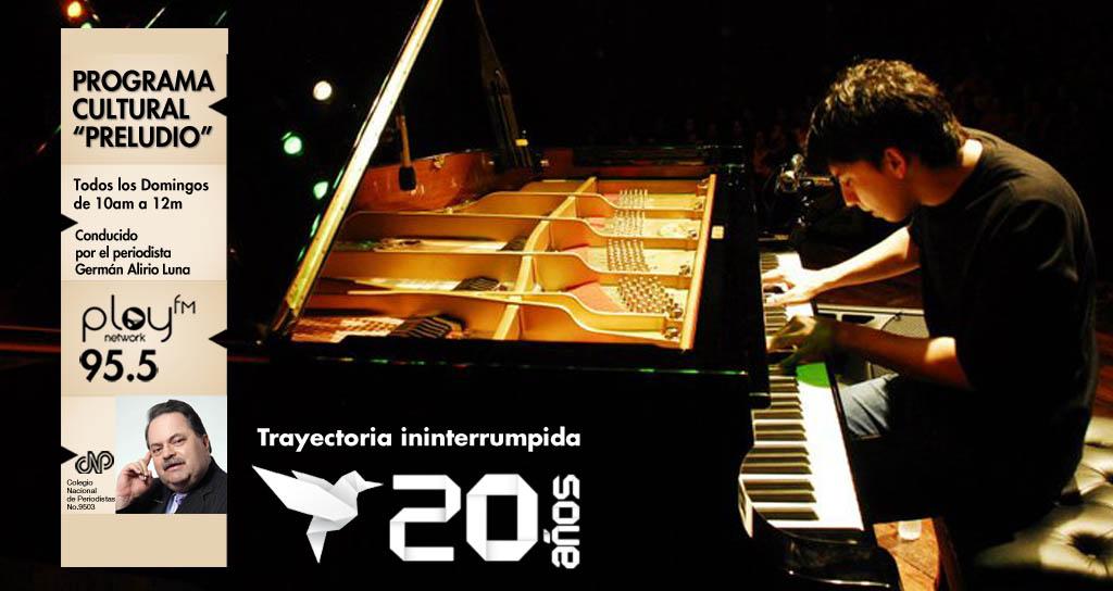 """Antonio Mazzei uno de los principales artistas de Jazz de la nueva generación en Venezuela invitado en """"Preludio"""""""