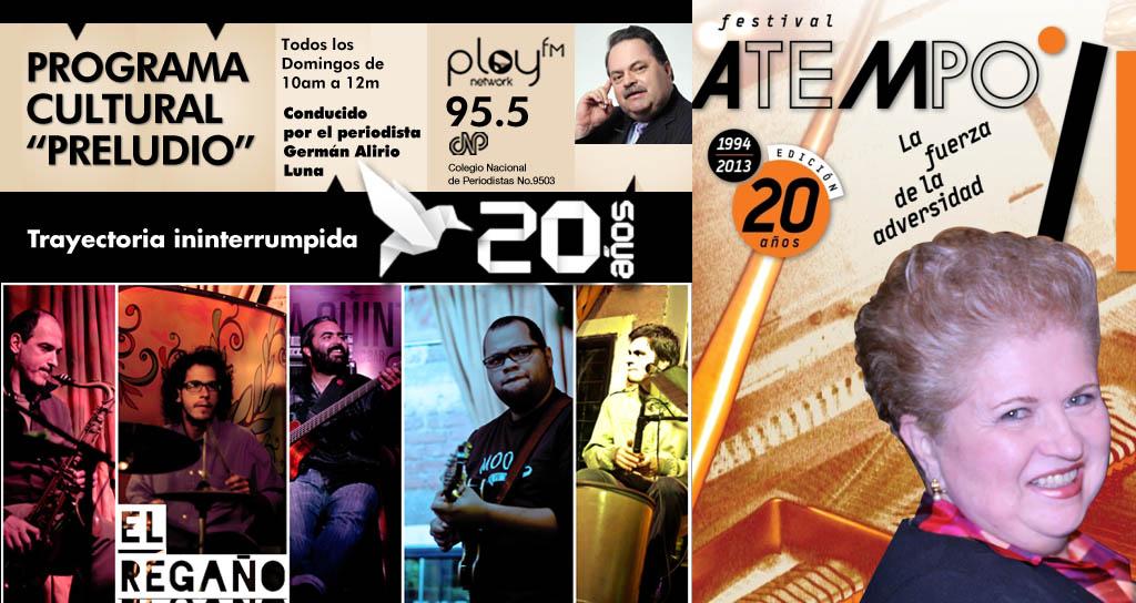 """El Festival Atempo y la agrupación """"El Regaño"""" comparten el día del Padre en Preludio"""