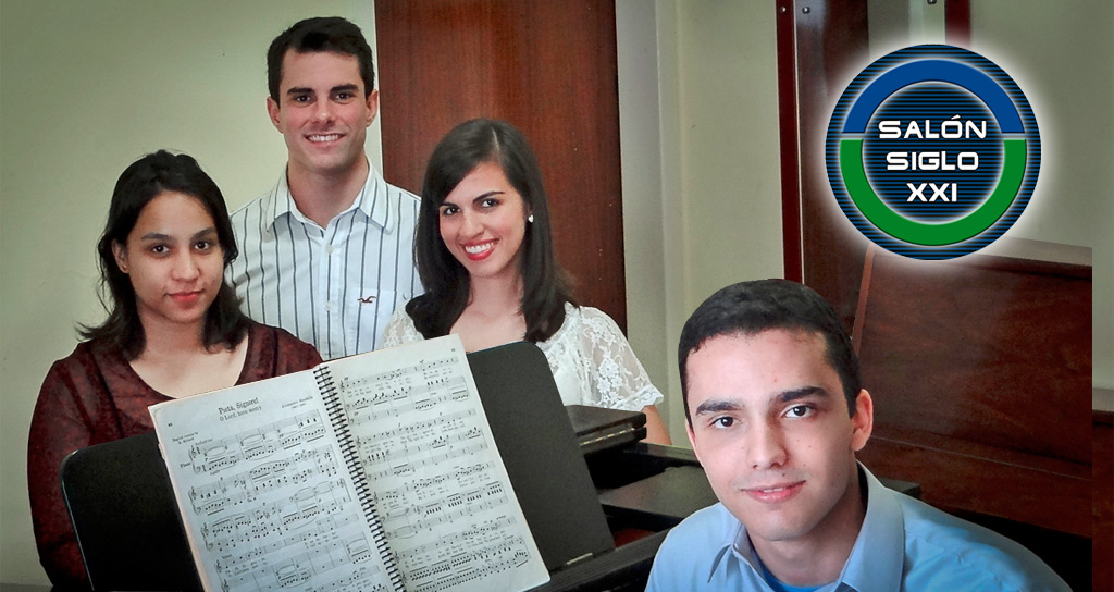 """3 Cantantes 3 Compositores"" en el Salón Siglo XXI"