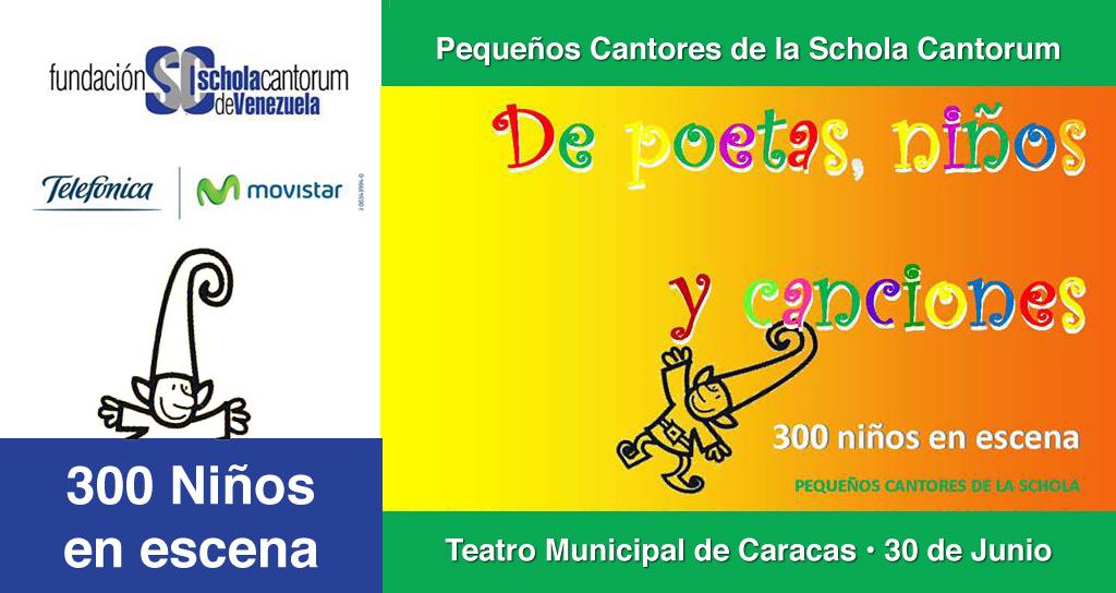 """""""De poetas, niños y canciones"""" : Pequeños Cantores en Concierto"""