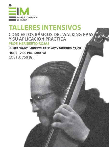 Escuela Itinerante de Música (EiM) abre Inscripciones para los Talleres intensivos