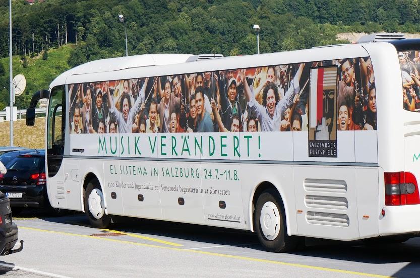 La representación venezolana de el Sistema llega a Salzburgo