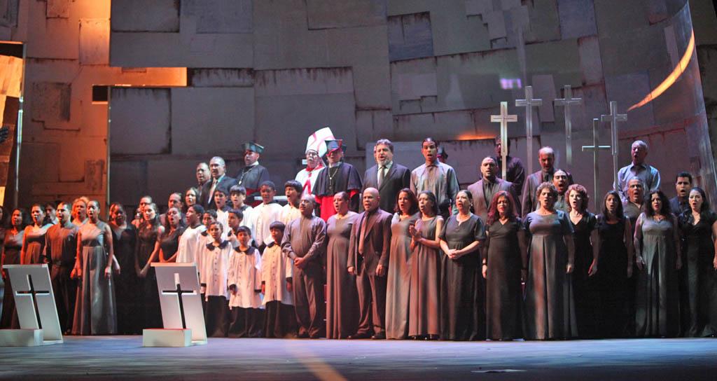 El Teatro Teresa Carreño apunta al auge de su Coro de Ópera