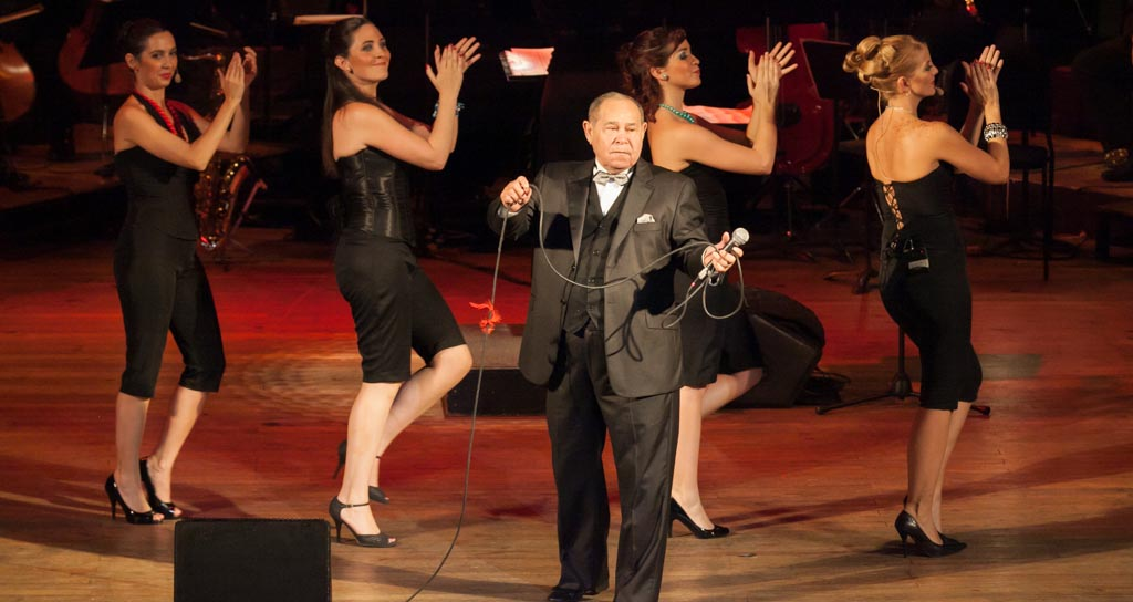 Sinfónica Municipal celebra con Billo Frómeta la semana de Caracas