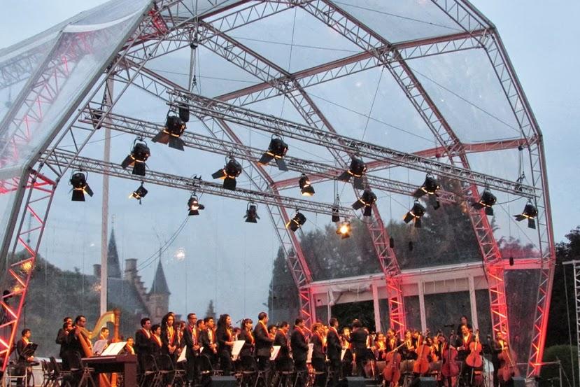 El Kaastel Concert de Mheer fue uno de los tres escenarios en los que la banda venezolana se presentó