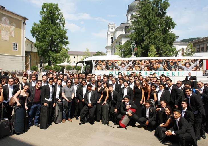El Sistema inicia residencia en Salzburgo