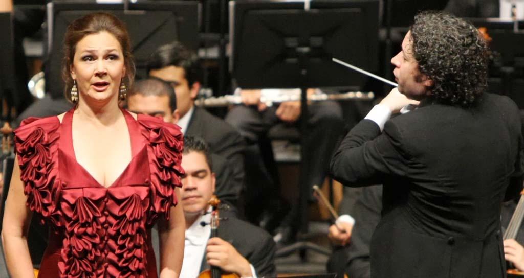 Gustavo Dudamel fue ovacionado durante 18 minutos en Salzburgo