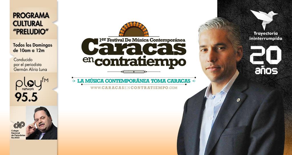 """La Música Contemporánea toma el programa radial """"Preludio"""""""
