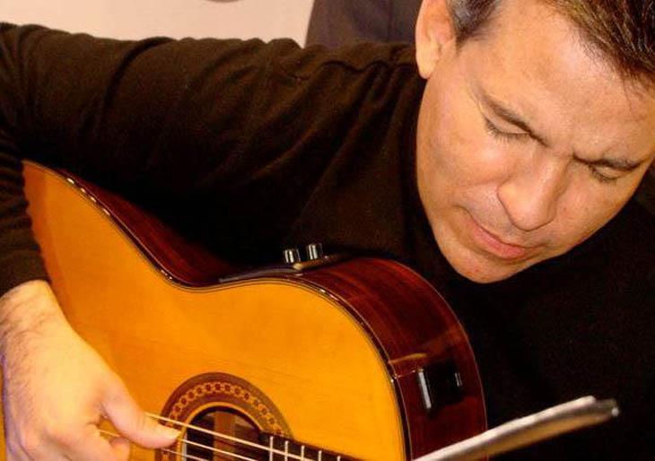 Pedrito López y Gustavo Carucí en 'Sesiones Íntimas' en el Centro Cultural B.O.D.- Corp Banca