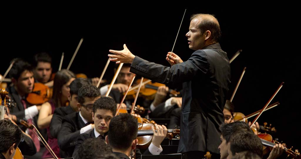 l Sistema • Youth Orchestra of Caracas: Dietrich Paredes, Youth Orchestra of Caracas © Silvia Lelli