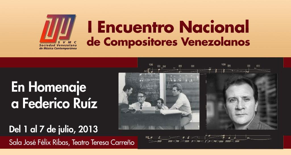 I Encuentro Nacional de Compositores Venezolanos