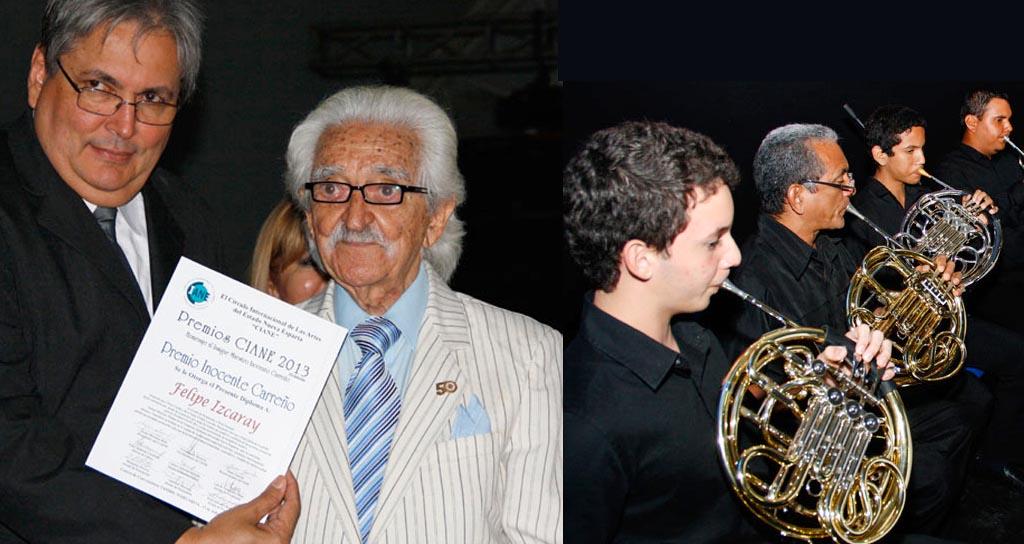 Maestro Inocente Carreño dirigió a la Orquesta Sinfónica del Estado Nueva Esparta