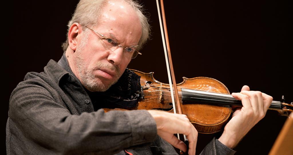 Concierto del violinista Gidon Kremer en Berlín contra la Rusia de Putin