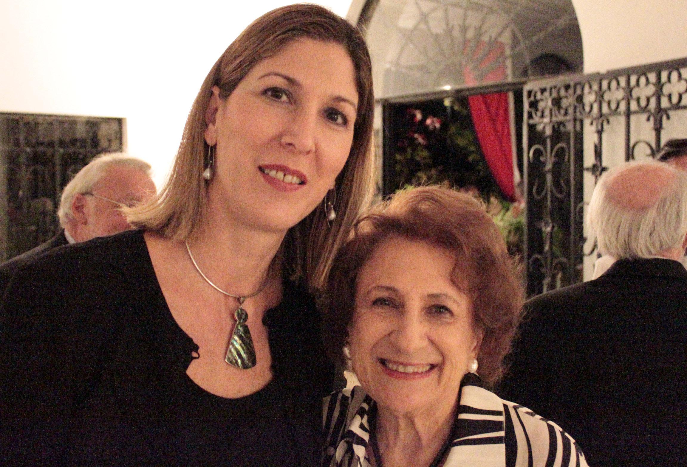 María Mercedes Nouel Paúl y Margot Benacerraf.