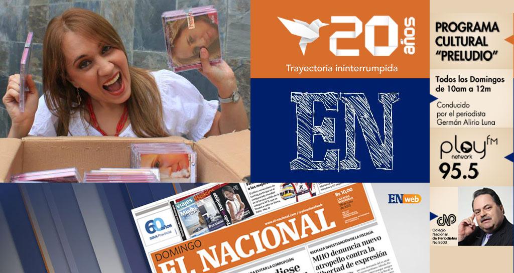 """El programa radial """"Preludio"""" celebra 70 Aniversario de El Nacional"""