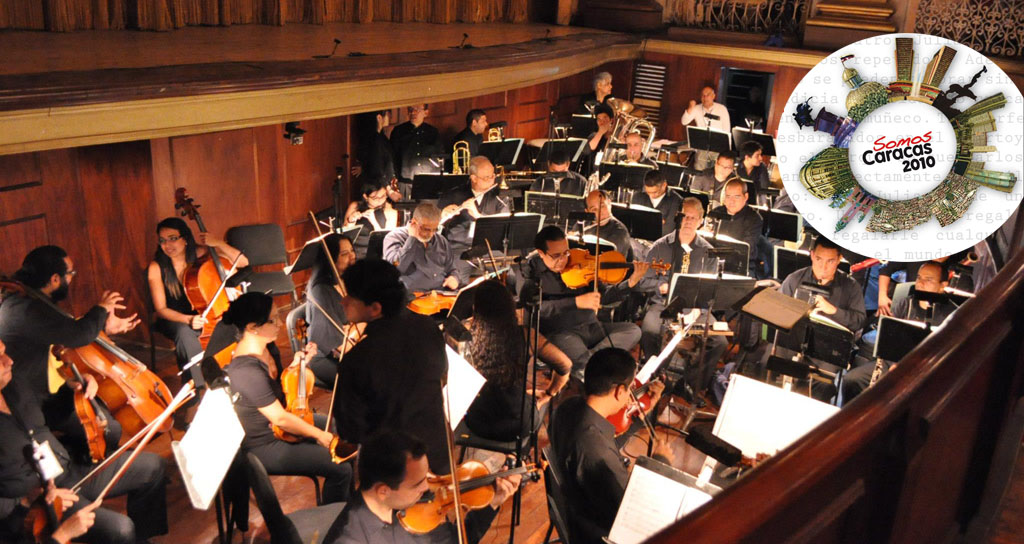 La Sinfónica Municipal de Caracas cierra la Feria del Libro