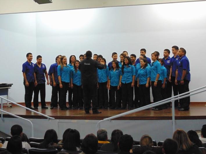 """Coral Juvenil """"Antonio Estévez"""" de Guárico enaltece el trabajo regional con su participación en el Festival Ameride 2013"""