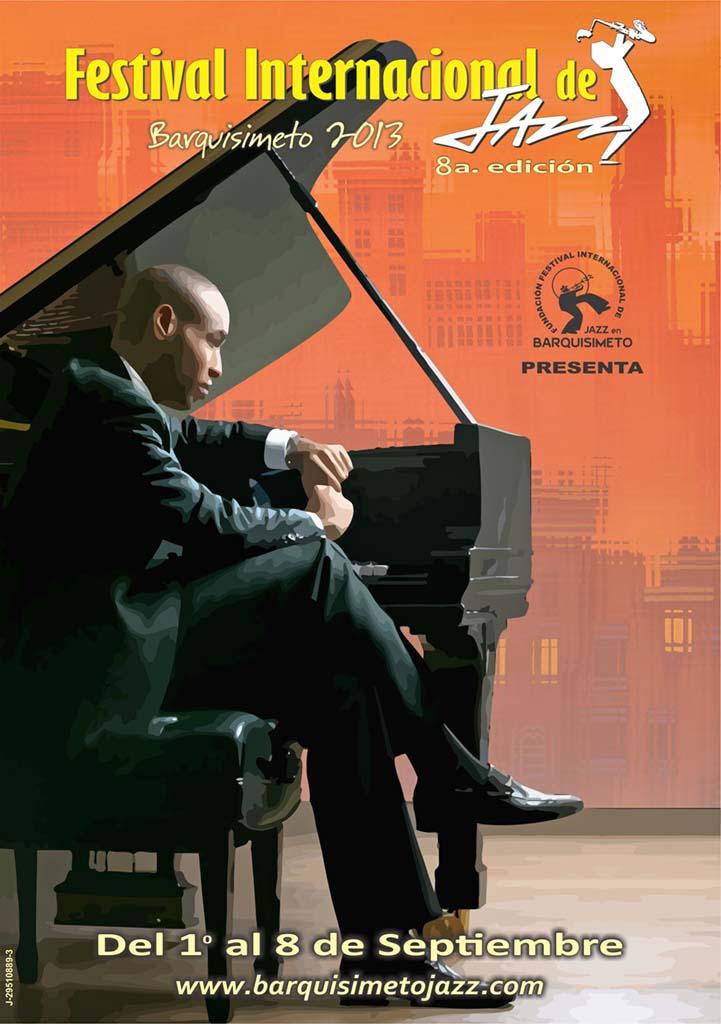 Afiche Festival Internacional Jazz 2013