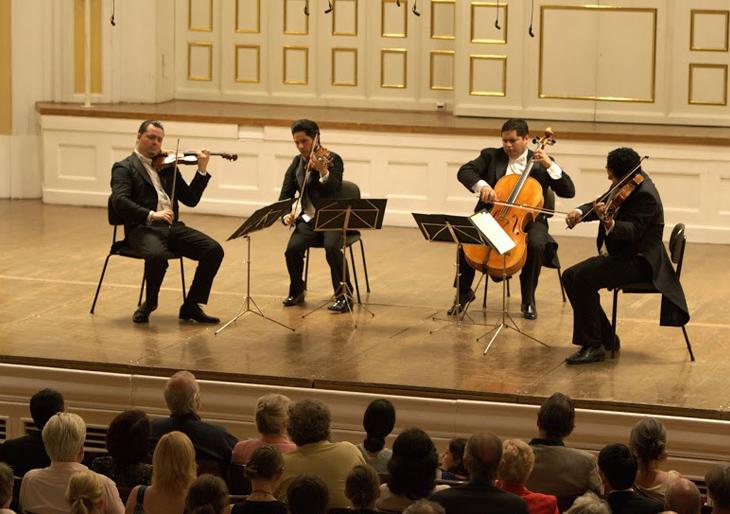 Salzburgo aplaudió al Cuarteto de Cuerdas Simón Bolívar