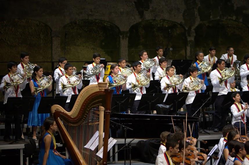 Aplausos y lágrimas para la Sinfónica Nacional Infantil
