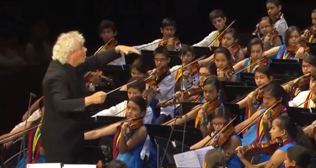 Video – Orquesta Sinfonica Infantil Nacional de Venezuela Festival de Salzburgo 2013