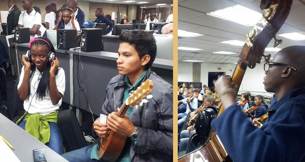 Primera visita de la Orquesta Kaposoka a Venezuela