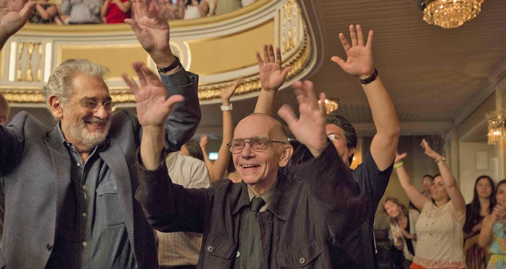 Foto Galería: Plácido Domingo alabó al Coro Manos Blancas tras su presentación en Salzburgo