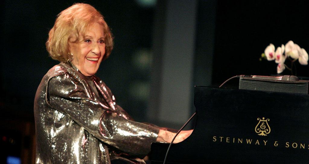 Muere pianista de jazz, Marian McPartland